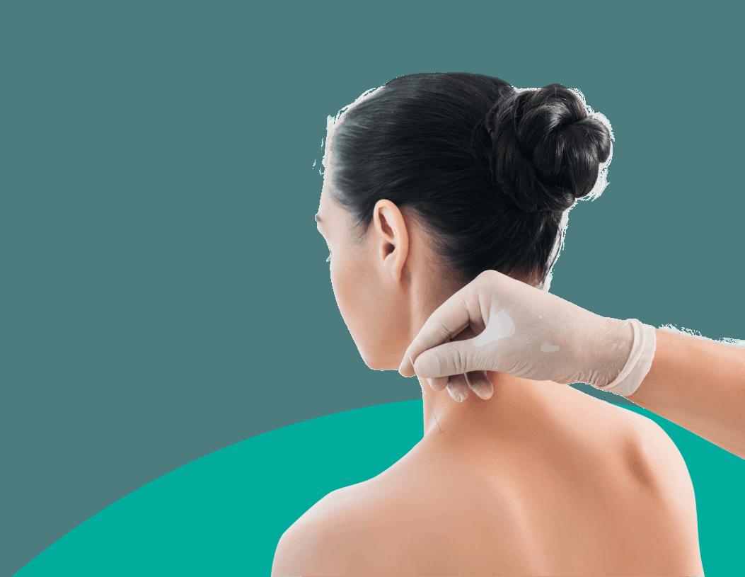 female acupuntrure back