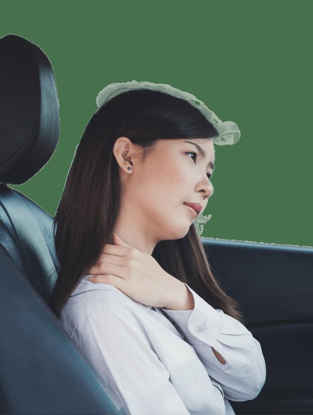 sore neck car